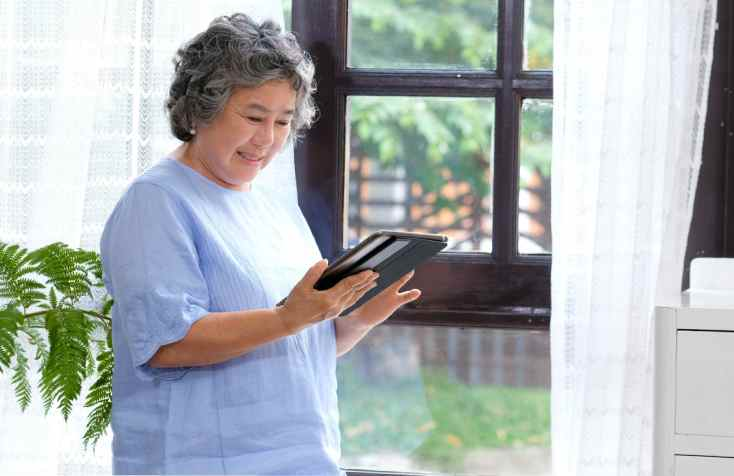 Benefits Of Technology For Senior Adults