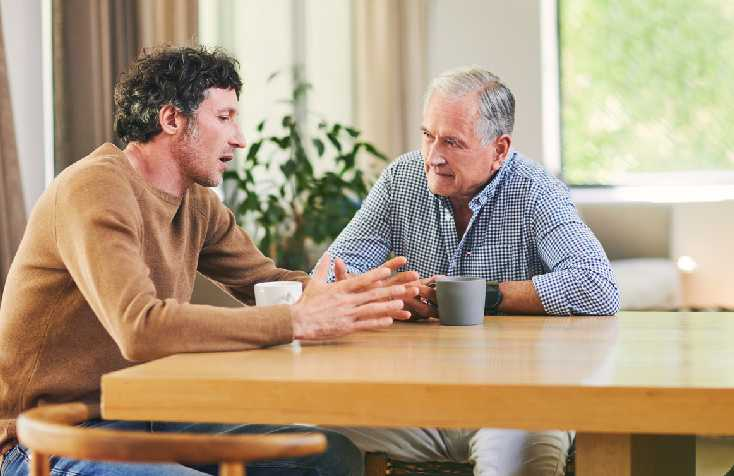 Talking To Senior About Moving To Assisted Living